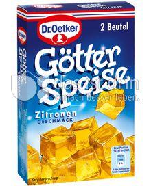Produktabbildung: Dr. Oetker Götterspeise Zitronen-Geschmack