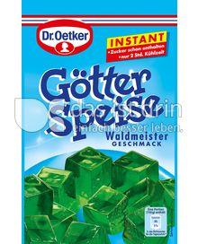 Produktabbildung: Dr. Oetker Götterspeise Instant Waldmeister-Geschmack