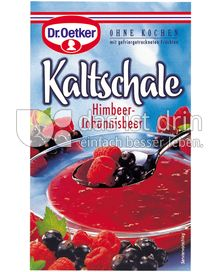 Produktabbildung: Dr. Oetker Kaltschale Himbeer-Johannisbeer