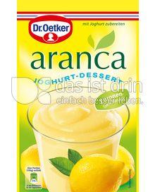 Produktabbildung: Dr. Oetker Aranca Zitronen-Geschmack