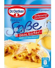 Produktabbildung: Dr. Oetker Dessert-Soße Vanille-Geschmack