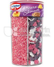 Produktabbildung: Dr. Oetker Dessertschmuck Streuselmix Pink