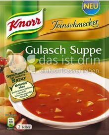 Produktabbildung: Knorr Feinschmecker Gulasch Suppe 500 ml