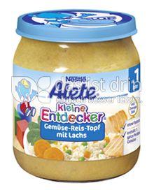 Produktabbildung: Nestlé Alete Kleine Entdecker Gemüse-Reis-Topf mit Lachs 250 g