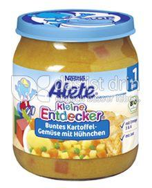 Produktabbildung: Nestlé Alete Kleine Entdecker Buntes Kartoffel-Gemüse mit Hühnchen 250 g