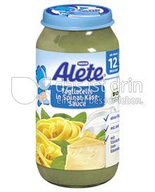 Produktabbildung: Nestlé Alete Tagliatelle in Spinat-Käse-Sauce 250 g
