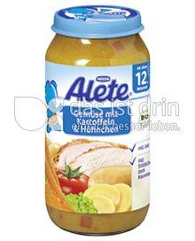 Produktabbildung: Nestlé Alete Gemüse mit Kartoffeln & Hühnchen 250 g