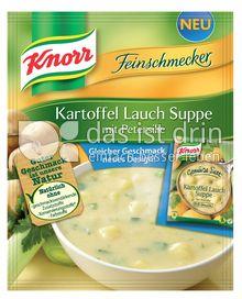 Produktabbildung: Knorr Feinschmecker Kartoffel Lauch Suppe 500 ml