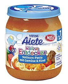 Produktabbildung: Nestlé Alete Kleine Entdecker Vollkorn-Pasta mit Gemüse & Rind 250 g