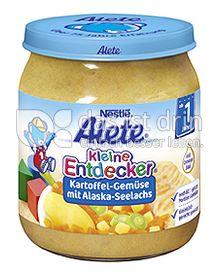 Produktabbildung: Nestlé Alete Kleine Entdecker Kartoffel-Gemüse mit Alaska-Seelachs 250 g