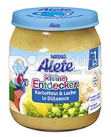 Produktabbildung: Nestlé Alete Kleine Entdecker Kartoffel & Lachs in Dillsauce 250 g