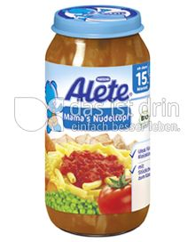 Produktabbildung: Nestlé Alete Mama's Nudeltopf 250 g