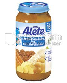 Produktabbildung: Nestlé Alete Kartoffel-Gemüse mit Fleischbällchen 250 g