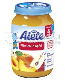 Produktabbildung: Nestlé Alete Pfirsich in Apfel 190 g