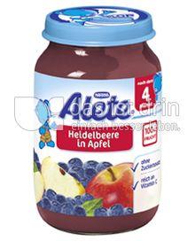 Produktabbildung: Nestlé Alete Heidelbeere in Apfel 190 g