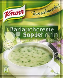 Produktabbildung: Knorr Feinschmecker Bärlauchcreme Suppe 500 ml