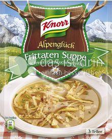Produktabbildung: Knorr Alpenglück Frittaten Suppe mit feinen Pfannkuchenstreifen
