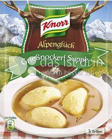 Produktabbildung: Knorr Alpenglück Grießnockerl Suppe