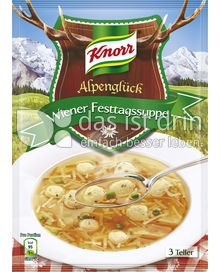 Produktabbildung: Knorr Alpenglück Wiener Festtagssuppe