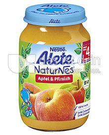 Produktabbildung: Nestlé Alete NaturNes Apfel & Pfirsich 190 g