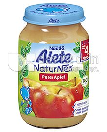 Produktabbildung: Nestlé Alete NaturNes Purer Apfel 190 g