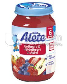 Produktabbildung: Nestlé Alete Erdbeere & Heidelbeere in Apfel 190 g