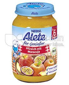 Produktabbildung: Nestlé Alete für Genießer Pfirsich mit Maracuja 190 g