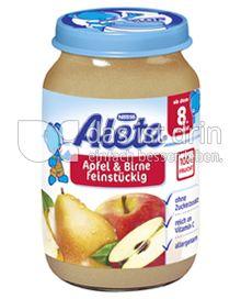 Produktabbildung: Nestlé Alete Apfel & Birne feinstückig 190 g