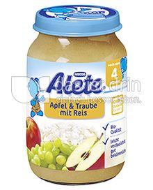 Produktabbildung: Nestlé Alete Apfel & Traube mit Reis 190 g