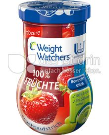 Produktabbildung: Weight Watchers Fruchtaufstrich Erdbeere 185 g