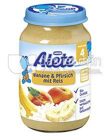 Produktabbildung: Nestlé Alete Banane & Pfirsich mit Reis 190 g