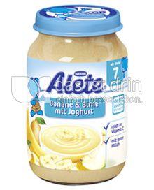 Produktabbildung: Nestlé Alete Banane & Birne mit Joghurt 190 g