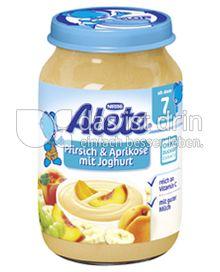 Produktabbildung: Nestlé Alete Pfirsich & Aprikose mit Joghurt 190 g