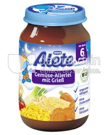 Produktabbildung: Nestlé Alete Gemüse-Allerlei mit Grieß 190 g