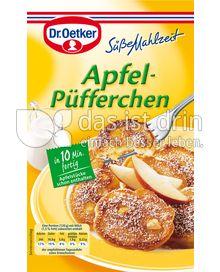 Produktabbildung: Dr. Oetker Apfel-Püfferchen 152 g