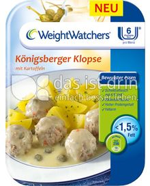 Produktabbildung: Weight Watchers Königsberger Klopse mit Kartoffeln 400 g