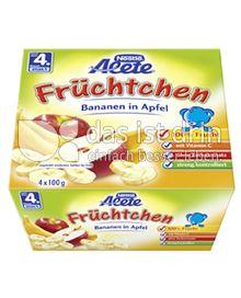 Produktabbildung: Nestlé Alete Früchtchen Bananen in Apfel 400 g