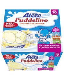 Produktabbildung: Nestlé Alete Puddelino Vanille-Geschmack 400 g