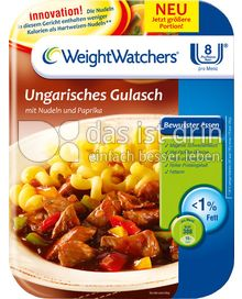 Produktabbildung: Weight Watchers Ungarisches Gulasch mit Nudeln und Paprika 350 g