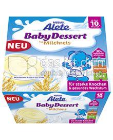 Produktabbildung: Nestlé Alete BabyDessert Milchreis 400 g