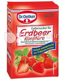 Produktabbildung: Dr. Oetker Gelierzucker für Erdbeer Konfitüre 500 g