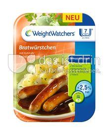 Produktabbildung: Weight Watchers Bratwürstchen mit Kohlrabi Kartoffel Gemüse 400 g