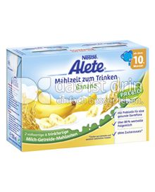 Produktabbildung: Nestlé Alete Mahlzeit zum Trinken Banane 400 ml