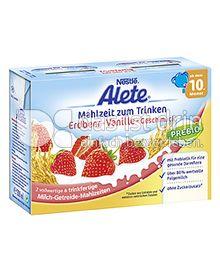 Produktabbildung: Nestlé Alete Mahlzeit zum Trinken Erdbeer-Vanille-Geschmack 400 ml