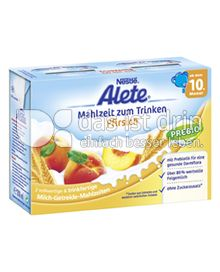 Produktabbildung: Nestlé Alete Mahlzeit zum Trinken Pfirsich 400 ml