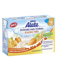 Produktabbildung: Nestlé Alete Mahlzeit zum Trinken Karotte-Reis 400 ml