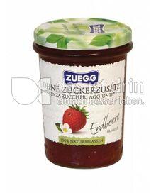 Produktabbildung: Zuegg Fruchtaufstrich Ohne Zuckerzusatz Erdbeere 250 g