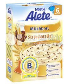 Produktabbildung: Nestlé Alete Milchbrei Stracciatella 450 g