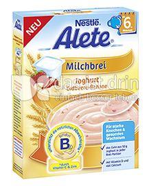 Produktabbildung: Nestlé Alete Milchbrei Joghurt Erdbeere-Banane 250 g