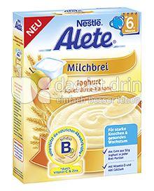 Produktabbildung: Nestlé Alete Milchbrei Joghurt Apfel-Birne-Banane 250 g